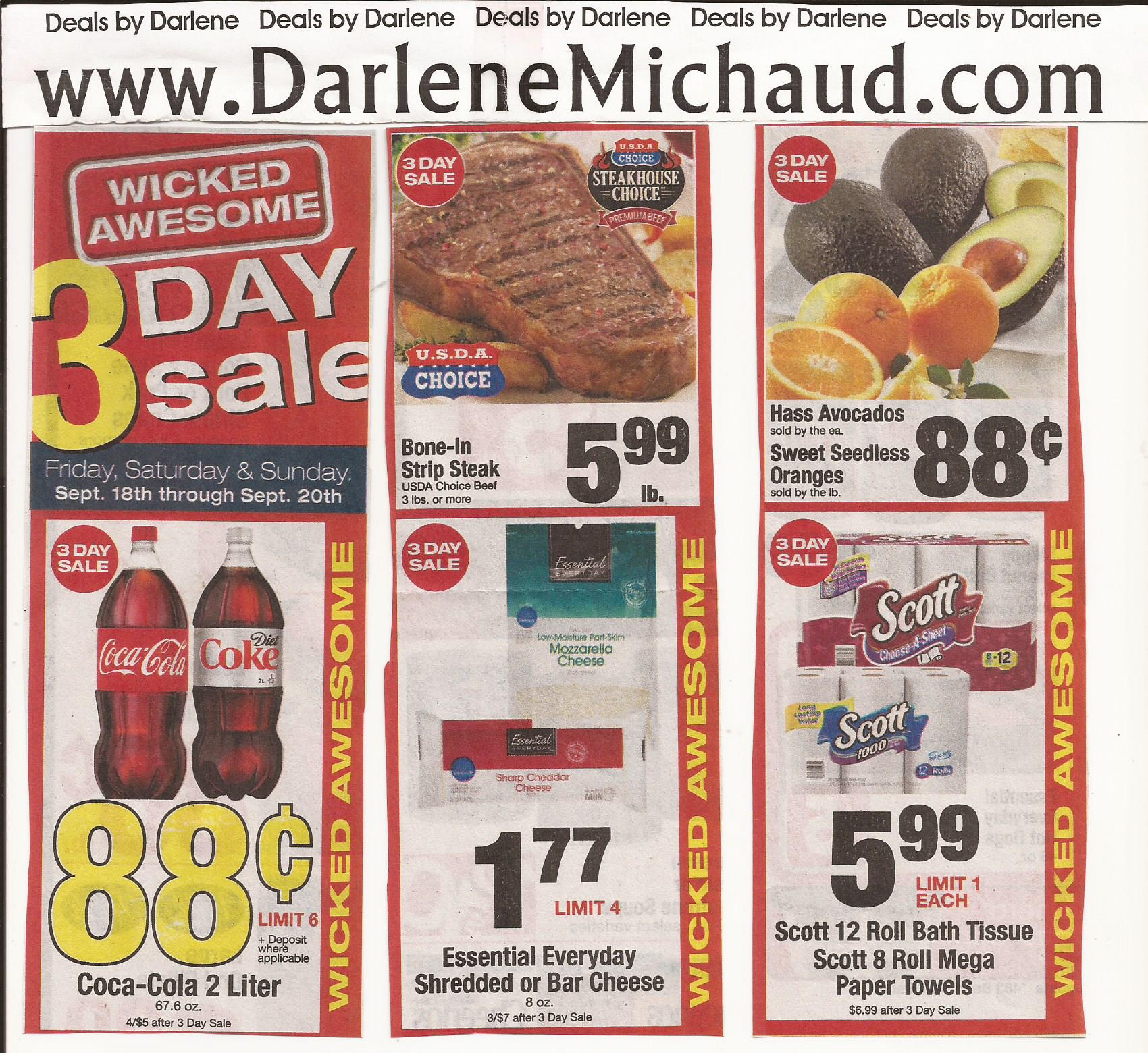 Shaw S Flyer 9 18 9 24 Darlene Michaud