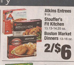 Stouffer's Fit Kitchen Dinners Only $1.50 at Shaw's starting 9/25