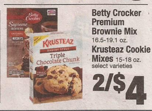 betty crocker premium brownie mix coupons