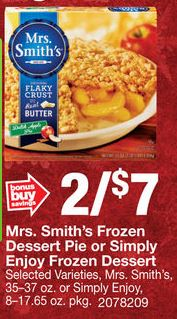 mrs smiths coupons