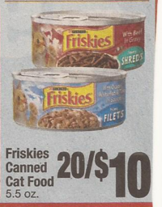 Canned cat food coupons