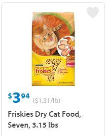 Coupon friskies wet cat food