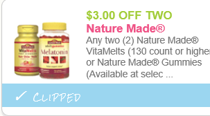 Nature made printable coupons