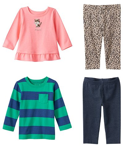 HUGE SALE – Jumping Beans Baby Clothing ly $3 99 at Kohl