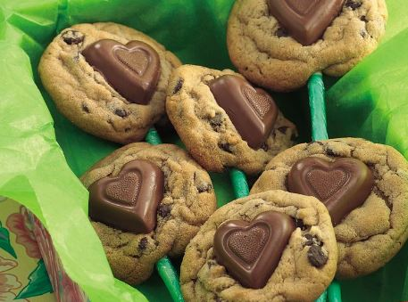Sweetheart Cookie Bouquet recipe pillsbury general mills darlene michaud