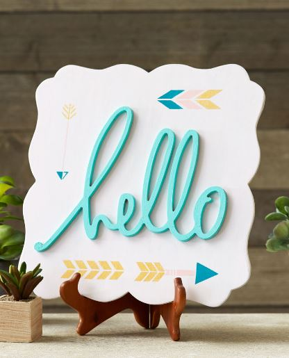 hello stencil michaels craft darlene michaud