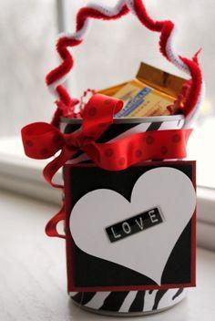 tin can valentines day crafts darlene michaud craft inspiration