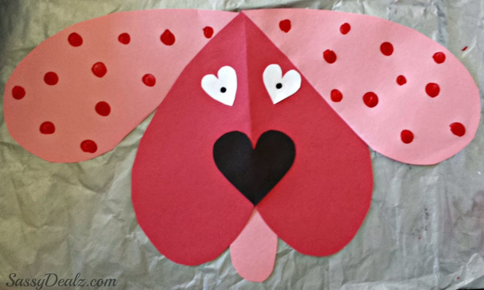 Crafty Inspirations – 10 Valentine\'s Day Paper Plate Crafts for Kids ...