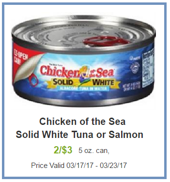 chicken of the sea coupon deal darlene michaud