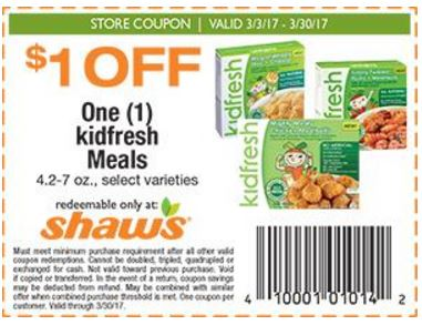 kidfresh coupon darlene michaud