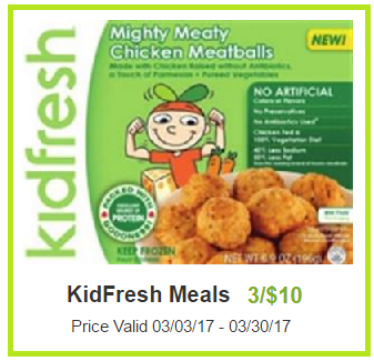 kidfresh meals coupon deal darlene michaud