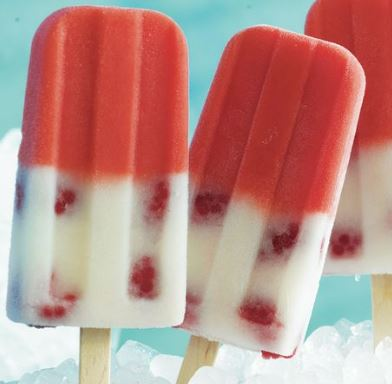 raspberry lemonade popsicles recipe darlene michaud
