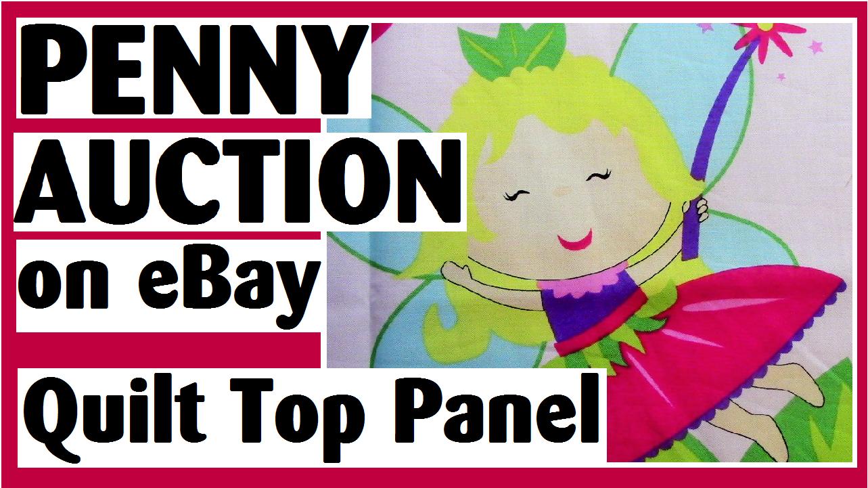 penny auction quilt top darlene michaud thumbnail