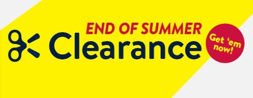 end of summer clearance walmart ad