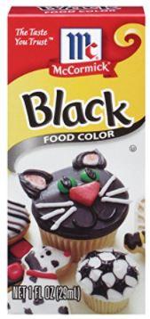 black food coloring darlene michaud