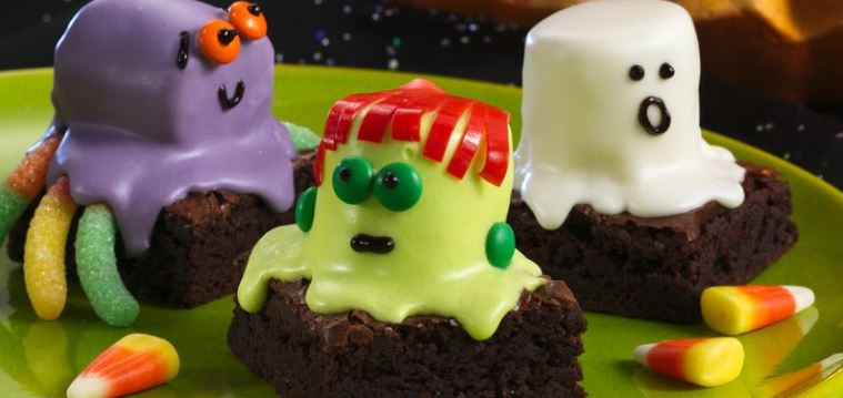 spooky brownies halloween recipe betty crocker darlene michaud wide