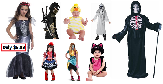 walmart clearance roundup darlene michaud  sc 1 st  Darlene Michaud & Walmart Clearance Roundup for 10/15 u2013 Halloween Costumes for Kids ...
