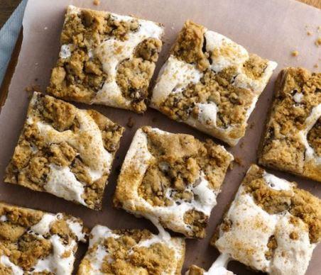 3 ingredient smores bars easy recipe pillsbury darlene michaud