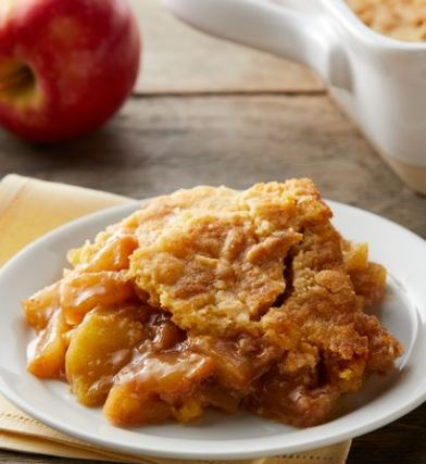 5 ingredient apple dump cake recipe betty crocker darlene michaud tall