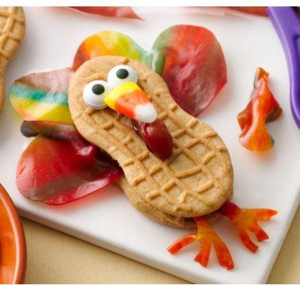 fruity feather turkey pillsbury thanksgiving recipe darlene michaud