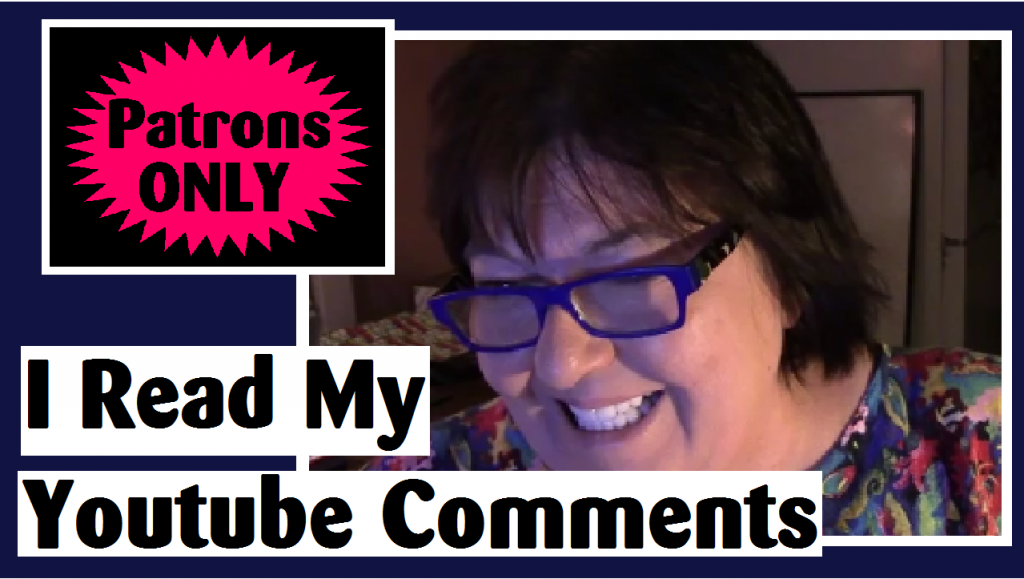 i read my youtube comments darlene michaud