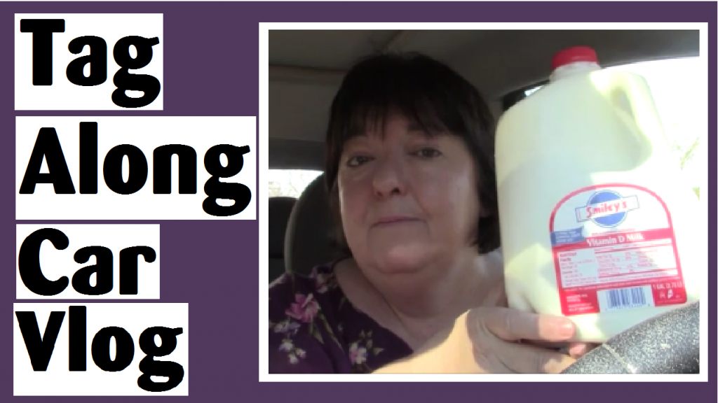 tag along car vlog darlene michaud