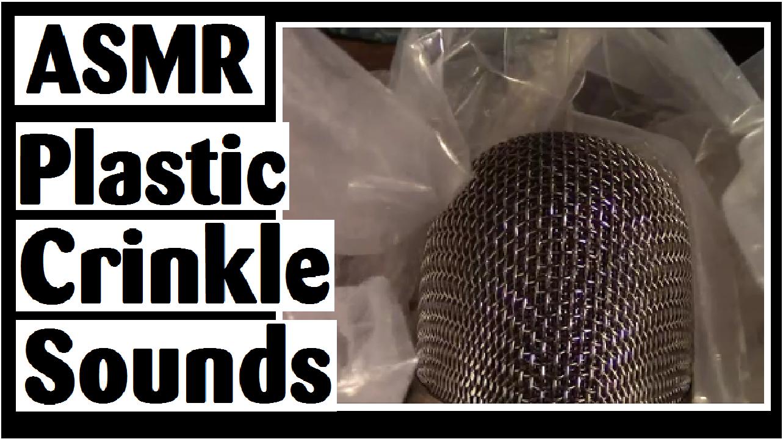 asmr plastic crinkle sounds darlene michaud