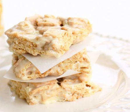 cinnamon toast cereal bars recipe general mills darlene michaud