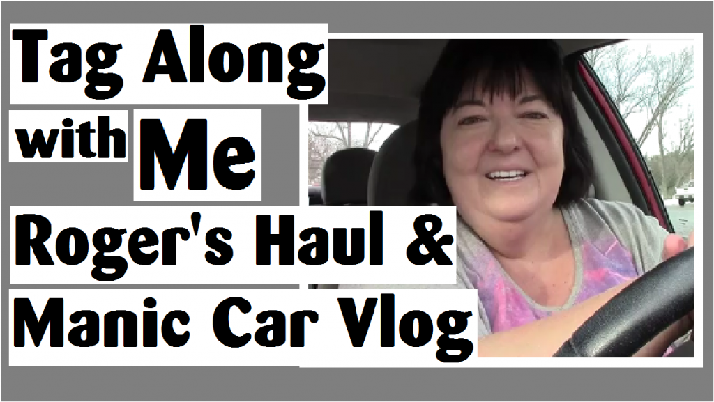 tag along with me rogers haul manic car vlog darlene michaud