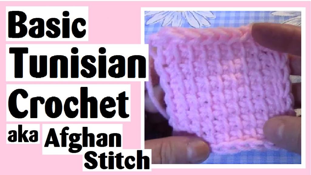 basic tunisian crochet afghan stitch darlene michaud