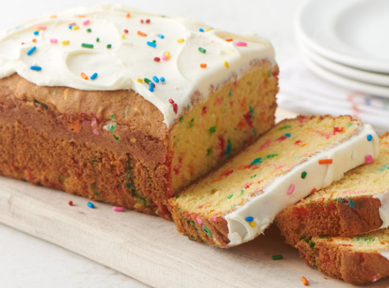 birthday cake mix bread recipe betty crocker darlene michaud