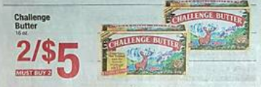 challenge butter shaws coupon deal darlene michaud
