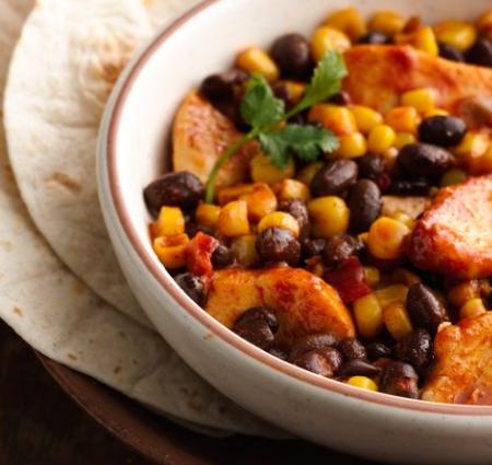 mexican chicken beans recipe betty crocker darlene michaud