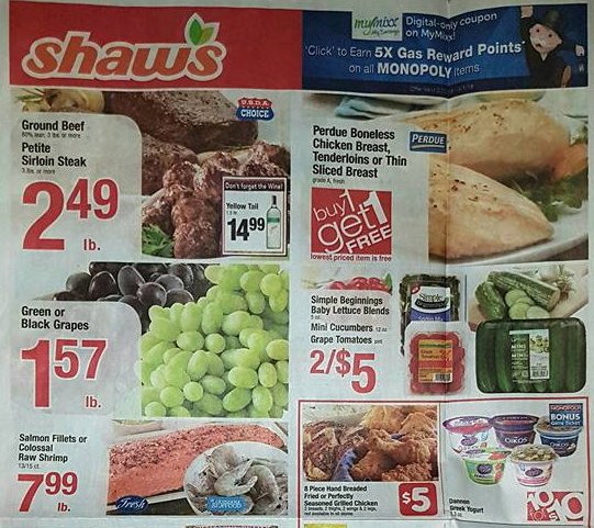 shaws flyer preview