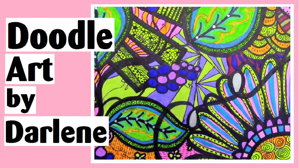 doodle art by darlene michaud