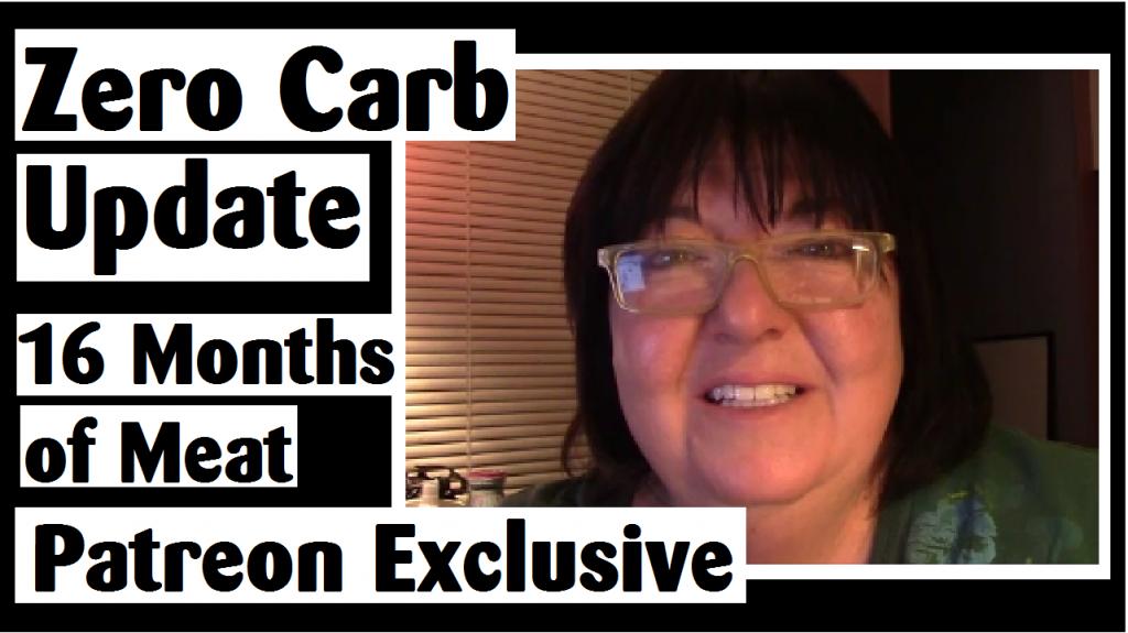 zero carb update 16 months of meat darlene michaud