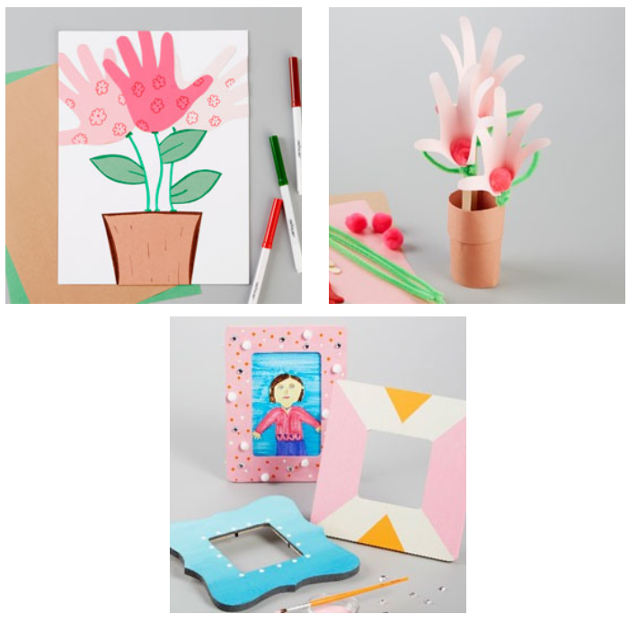 Kids Club Workshops at Michael\'s – Mother\'s Day Flowers and Frame ...