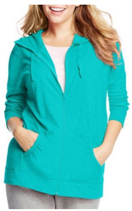 e149d28f9a67 WALMART CLEARANCE – Just My Size Women s Plus-Size Slub Jersey Hoodie up to  5X – ONLY  11.48 – FREE Store Pickup!