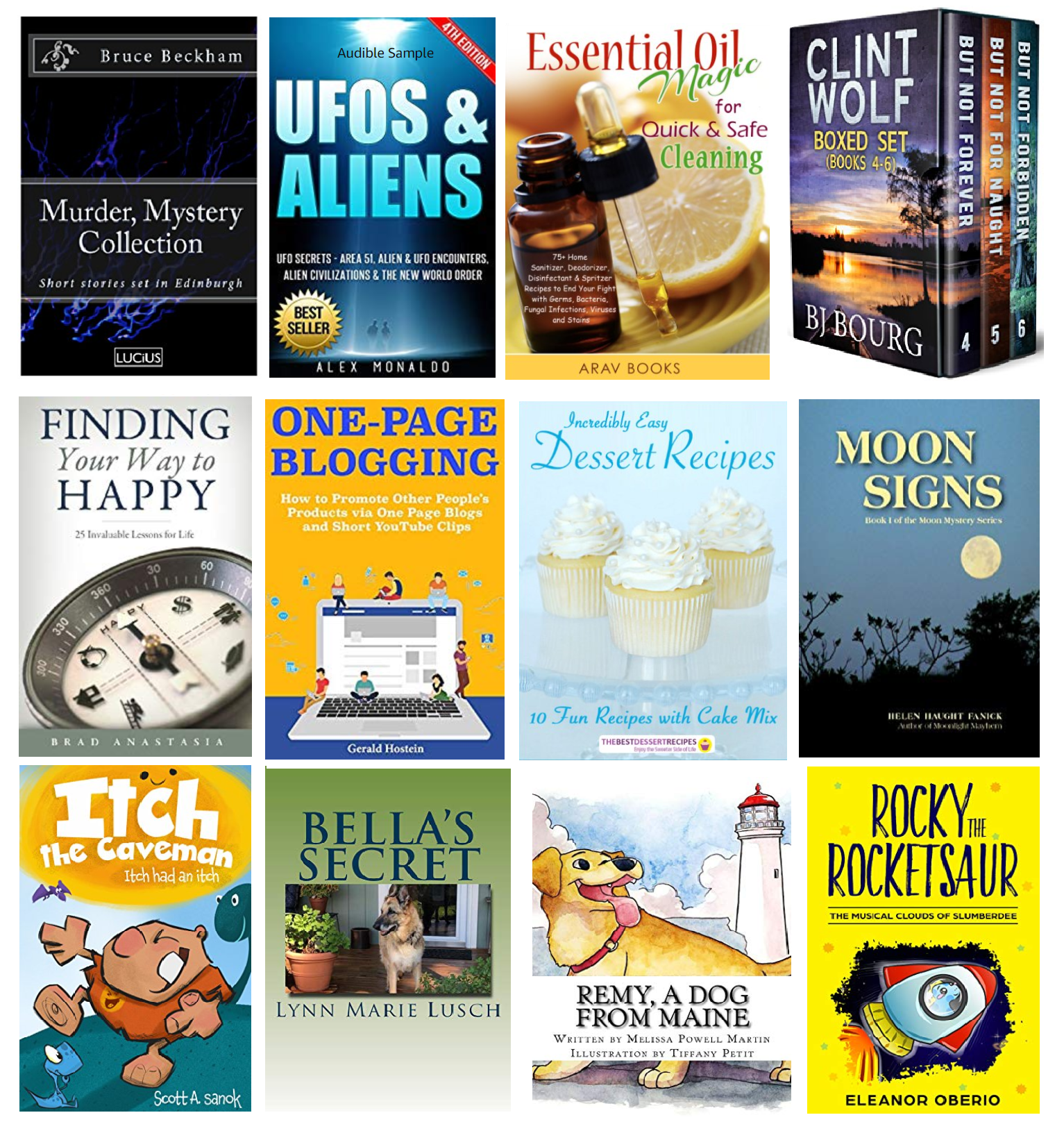 20 FREE Kindle Books plus 10 FREE for Kids! List for 9/2/18