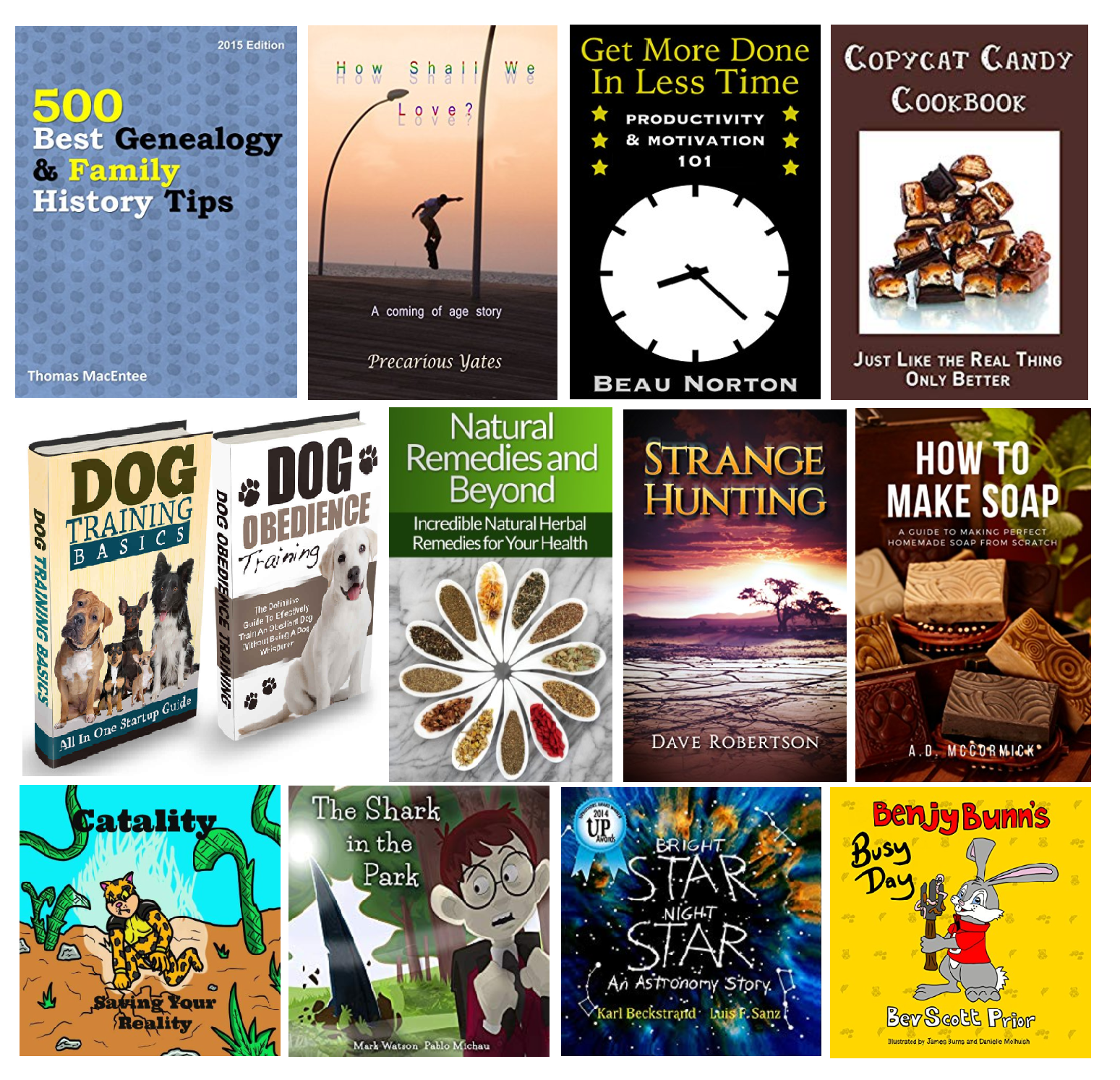 20 FREE Kindle Books plus 10 FREE for Kids! List for 9/7/18